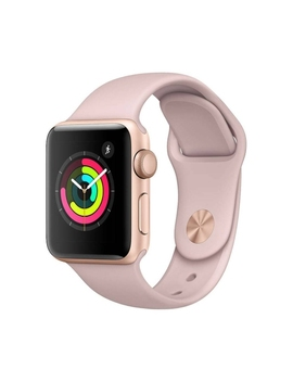 Apple Watch Series 3 38mm Gps Gold With Pink Sand Sport Band   Open Box (10/10 Condition) by Apple