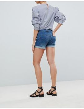 Bandia Maternity Denim Short With Removable Bump Band by Bandia