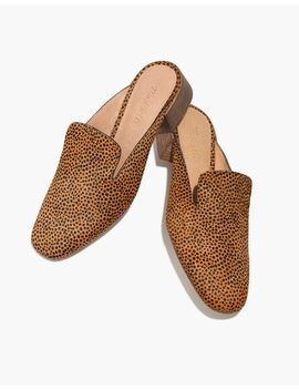 The Willa Loafer Mule In Spotted Calf Hair by Madewell