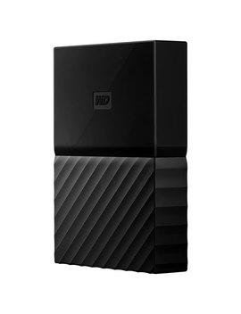 Wd My Passport 3 Tb Usb 3.0 Portable External Hard Drive For Mac (Wdbp6 A0030 Bbk Wese)   Black by Western Digital