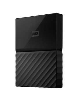 Wd My Passport 1 Tb Usb 3.0 Portable External Hard Drive For Mac (Wdbfkf0010 Bbk Wese)   Black by Western Digital