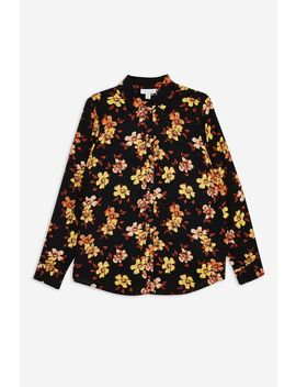 Autumn Floral Shirt by Topshop