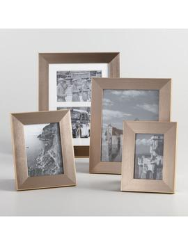 Pewter And Gold Portofino Frame by World Market