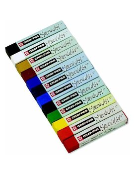 """Sakura Cray Pas Specialist Oil Pastel, 0.4"""" X 0.4"""" X 2.5"""", Assorted Colors, Multiple Pack Sizes by Alvin"""