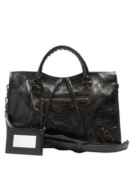 Classic City Leather Shoulder Bag by Matches Fashion