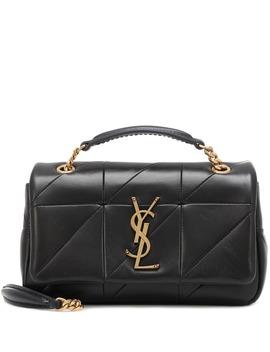 Jamie Small Leather Shoulder Bag by Saint Laurent