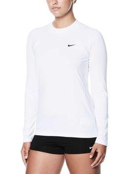 Nike Women's Long Sleeve Hydro Rash Guard by Nike