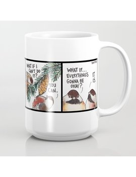 Bird No. 320: Worrier Coffee Mug by