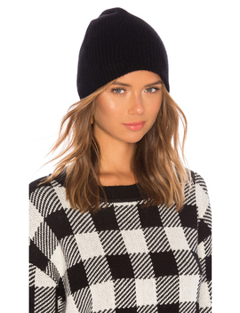 Plush Rib Beanie by White + Warren