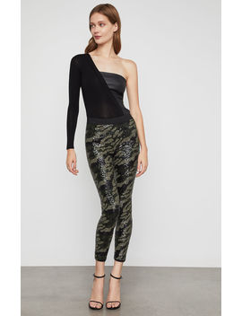 Camo Sequin Legging by Bcbgmaxazria