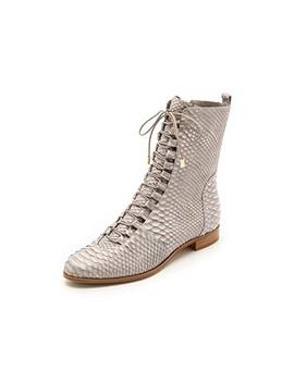 Python Flat Boots by Alexandre Birman