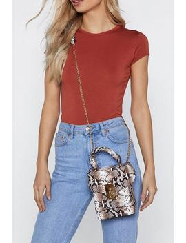 Want Snake Play Crossbody Bag by Nasty Gal