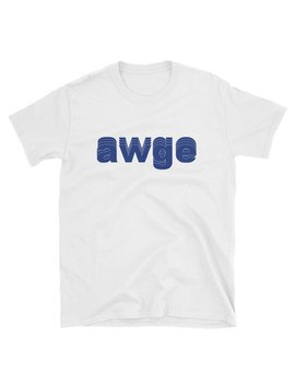 Awge Asap Rocky Ian Connor Short Sleeve Unisex T Shirt S 3 Xl Blue White by Etsy