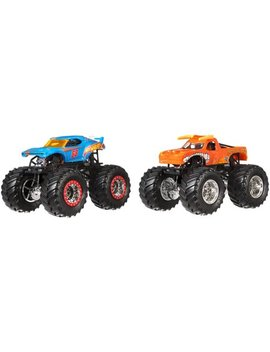 Hot Wheels Monster Jam Demolition Doubles 2 Pack (Styles May Vary) by Hot Wheels