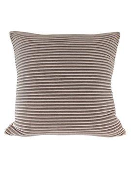 """Better Homes & Gardens Pleated Velvet Decorative Throw Pillow, 18"""" X 18"""", Ivory by Better Homes & Gardens"""