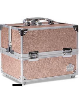 Rose Gold Adored Train Case by Caboodles