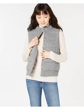 Pure Cashmere Puffer Vest, In Regular & Petite Sizes, Created For Macy's by Charter Club