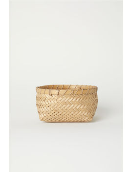 Braided Bamboo Basket by H&M