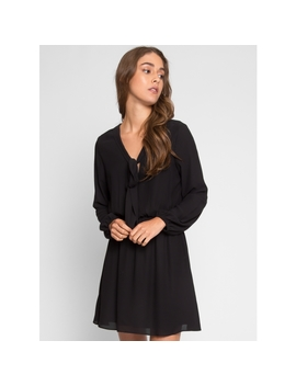 Raven Fit And Flare Dress by Wet Seal