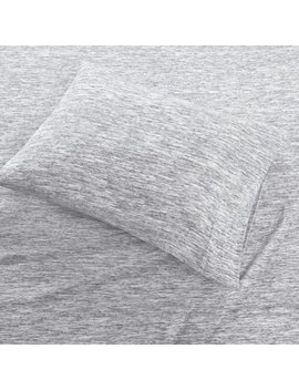 Comfort Classics Space Dyed Cotton Jersey Knit Sheet Set by Comfort Classics