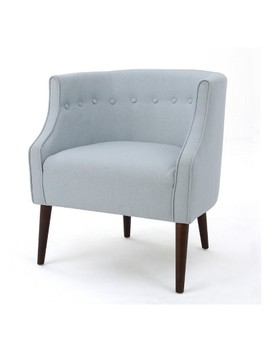 Brandi Upholstered Club Chair   Christopher Knight Home by Christopher Knight Home