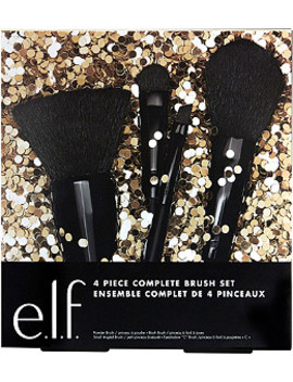 Online Only 4 Piece Complete Brush Set by E.L.F. Cosmetics