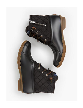 Sperry® Saltwater Rainboots   Quilted by Talbots