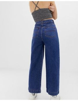 Collusion Wide Leg Jean In Classic Blue by Collusion