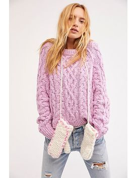 Forget Me Not String Mittens by Free People