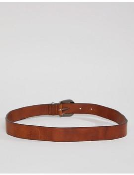 Wrangler Western Leather Belt by Wrangler