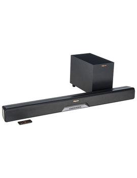 """Klipsch Reference Rsb 6 210 Watt Sound Bar With 6.5"""" Wireless Subwoofer by Klipsch"""