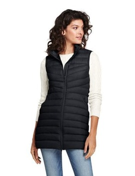 Women's Petite Ultralight Down Packable Vest by Lands' End