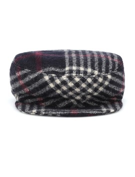 Naly Plaid Wool Hat by Isabel Marant