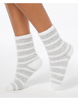 Marled Stripe Socks, Created For Macy's by Charter Club