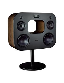 """Fluance Fi70 Three Way Wireless High Fidelity Music System With Powerful Amplifier & Dual 8"""" Subwoofers (Natural Walnut) by Fluance"""