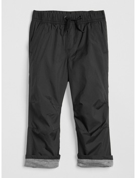 Pull On Lined Pants In Twill by Gap