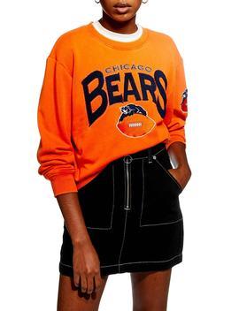 Chicago Bears Crop Sweatshirt by Topshop