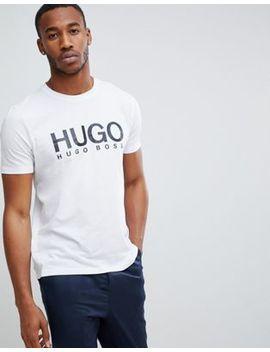 Hugo Dolive U2 Logo T Shirt In White by Hugo
