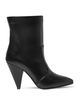 Atomic West Leather Ankle Boots by Stuart Weitzman