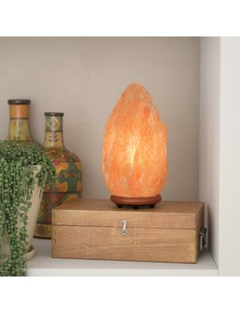 "World Menagerie Jayvion 9.25"" Himalayan Salt Lamp & Reviews by World Menagerie"