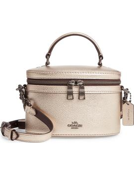 Trail Colorblock Metallic Leather Crossbody Bag by Coach