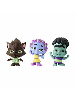 Netflix Super Monsters Set Of 3 Collectible 4 Inch Figures Monster Trio (Amazon Exclusive) by Playskool