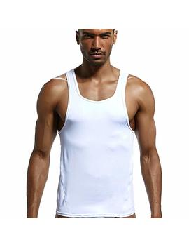 Superbody Men's Tank Tops Sleeveless Shirts Stringer Dri Fit For Workout Gym Running Fitness Bodybuilding Weight Loss by Superbody