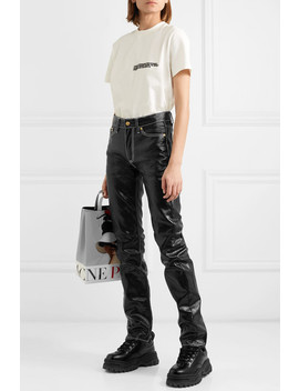 Cypress High Rise Coated Slim Leg Jeans by Eytys