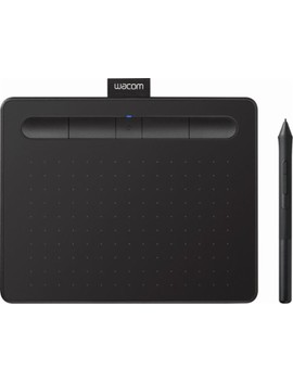Intuos Wireless Graphic Tablet (Small) With 3 Bonus Software Included   Black by Wacom