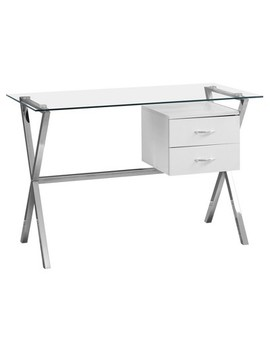 Computer Desk   Tempered Glass   Every Room® by Every Room