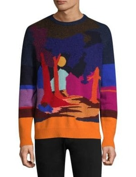 Dreamer Landscape Intarsia Sweater by Paul Smith