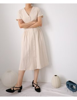 Bella Dress  Retro Vintage Inspired Linen Dress by Etsy