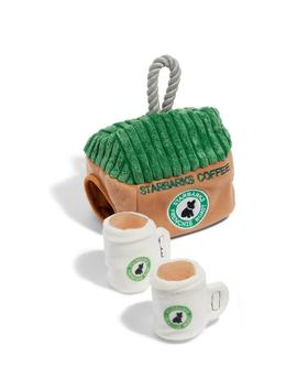 Starbarks Coffee House Dog Toy by Haute Diggity Dog