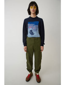 Cargo Trousers Hunter Green by Acne Studios